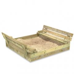 Cajón de arena Flip 120x125 cm