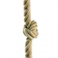 Cuerda con nudos 26 mm