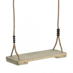 Asiento de madera para columpios