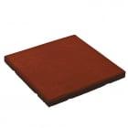 Loseta de caucho 50x50x4,5 cm