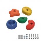 5 Piedras para trepar 90 mm multicolor