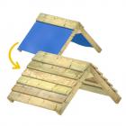 Ampliación de techo de lona en techo de madera 89